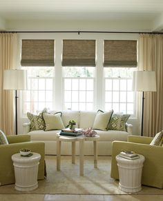 love the colors choices abd the window treatment roman style shades adds warmth to the space-love it!