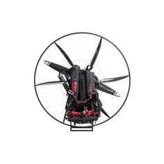 SCOUT Carbon Paramotor -- A flying machine that's affordable, relatively safe, can be stored in your garage and easily transportable, and innovative by design. The SCOUT Carbon Paramotor is on the cutting edge of paramotor design with its carbon fibre cage and airfoil-shaped profiles. This innovative design allows for in-flight balanced Dynamic Torque Compensation; the cage airfoils adjust for changes in thrust and maintains flight characteristics through torque compensation.