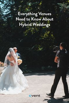 When it comes to getting married during times of social distancing, travel restrictions, and limits on gatherings, couples are looking for alternative options. Some are choosing a simple elopement, going to the courthouse, or postponing their wedding to a time when large gatherings might once again be possible. Other couples who don't want to wait have embraced a new option: hybrid weddings. Event Planning Tips, Need To Know, Getting Married, Alternative, Things To Come, Times, Weddings, Couples, Wedding Dresses
