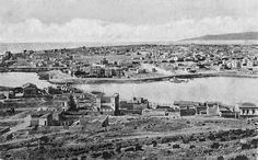 Πανόραμα Πειραιώς, αρχές 20ου αιώνα. Δημοσίευση Θεόδωρου Μεταλληνού.