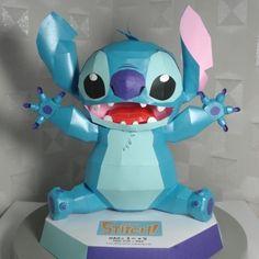 Disney Papercraft: Stitch | Tektonten Papercraft