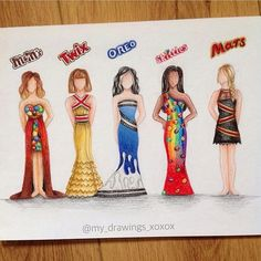 Which one do you like the most!?? Amazing artwork by @my_drawings_xoxox Follow us! Tag your friends#trendyartworks