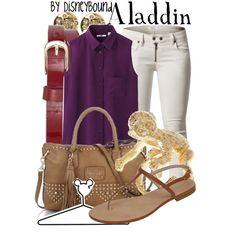 """Aladdin"" by lalakay on Polyvore"