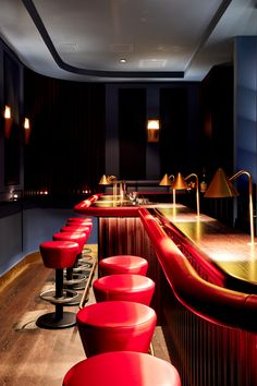 bar bleu | Smokers Lounge Design Hotel, Hotels, Lounge, Private Club, Bar, Smokers, Boutique, Lighting Design, Conference Room