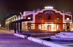 foto nocturna del Casino de Castellón en el #GraoCastellon