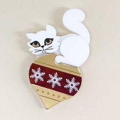 Peppy Chapette Snowy Kitty Christmas