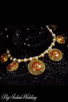 Tanishq delicate neck piece