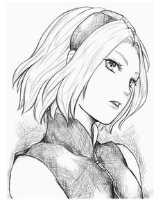 Naruto Sasuke Sakura, Naruto Art, Sakura Haruno, Naruto Uzumaki, Anime Naruto, Anime Drawing Styles, Anime Character Drawing, Manga Drawing, Naruto Sketch