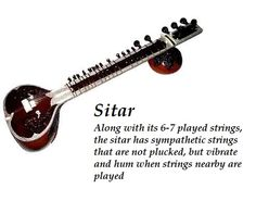 Sitar is believed to have been derived from the veena, an ancient Indian instrument, which was modified by a Mughal court musician to conform with the tastes of his Persian patrons and named after a Persian instrument called the Setar