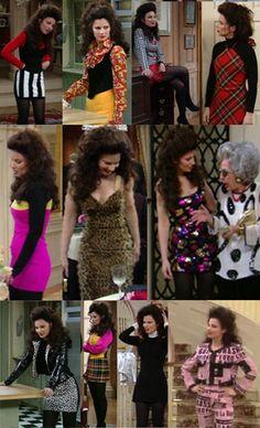 Fran fine the nanny costume - Boo! Nineties Fashion, 80s And 90s Fashion, Fashion Outfits, Fashion Women, High Fashion, Nanny Outfit, 90s Outfit, Fran Fine The Nanny, Nana Fine