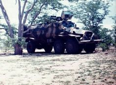 Sesspir APC, Owambo land near Mahnene, Northern Namibia 1988 – With permission from A. Swanepoel