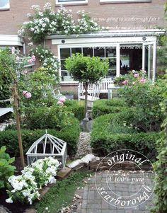 Prachtige tuin van Anita