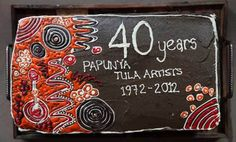Papunya Tula artists are celebrating their 40th anniversary (1972-2012)!   From: Aboriginal Art & Culture: an American eye