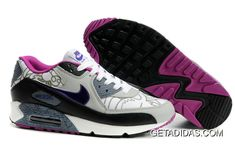 the latest c7703 e15ad Now Buy Womens Nike Air Max 90 Leather Grey Black Shoes Hotle Save Up From  Outlet Store at Nikelebron.