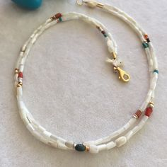 Mother of Pearl two lined Necklace