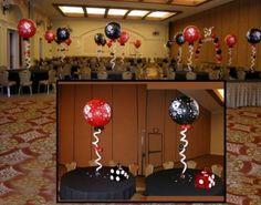 Bilderesultat for casino poker balloons
