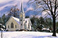 Winter Calm*.... by Jim Gray..... $200.00 Limited Edition Lithograph 1500 numbered and signed by Jim Gray 20 x 13 FREE SHIPPING