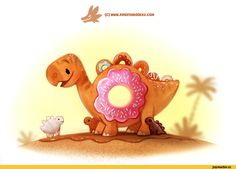 красивые картинки,art,арт,динозавры,Piper Thibodeau,Cryptid-Creations,artist
