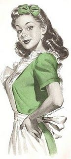 50's housewife experiment - cute blog!