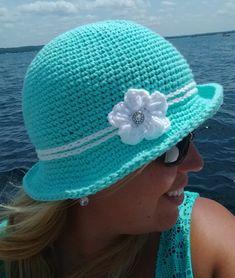 Crochet Elegant Sun Hat – Traversebaycrochet.com