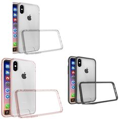 Our latest and greatest. iPhone X, Shockpr... Browse our latest collection. http://jandjcases.com/products/iphone-x-shockproof-transparent-tpu-hard-case-in-3-colors?utm_campaign=social_autopilot&utm_source=pin&utm_medium=pin