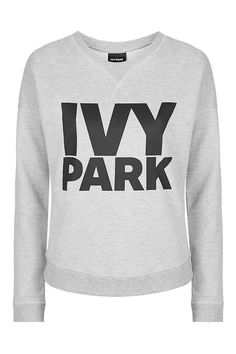 Logo Crew Neck Sweatshirt by Ivy Park