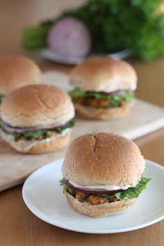 Crazy Veggie Burgers from Vegan Yumminess (Curated for BlogHer Loves Kitchen Entertaining sponsored by KitchenAid) - SC