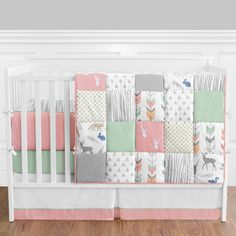 Sweet Jojo Designs Woodsy 9 Piece Crib Bedding Set & Reviews | Wayfair