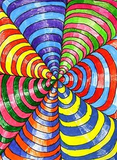 Ilusão de óptica. Em: http://www.artsonia.com/museum/art.asp?id=18493343 jenna405's art on Artsonia