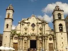 Catedral de La Habana, Cuba.