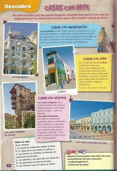 Casas con arte. Fun thing to do in a travel journal!