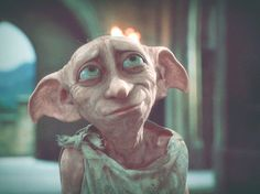 Harry Potter fans are leaving socks for house elf Dobby in front of his exhibit at Warner Bros. Studio Tour of Harry Potter in London Dobby Harry Potter, Arte Do Harry Potter, Images Harry Potter, Harry Potter Love, Harry Potter Characters, Harry Potter World, Fictional Characters, James Potter, Hogwarts
