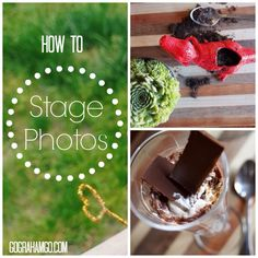 How to Stage Photos for Stand Out Pictures on Your Blog #blogging #photos