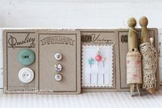 Sizzix Die Cutting Inspiration and Tips: Vintage Pockets
