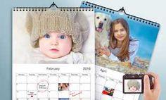Custom Photo Calendars from Printerpix