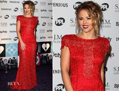 Kimberly Walsh In Jacques Azagury – 21st Music Industry Trust Awards