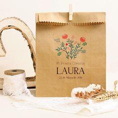 Bolsas regalos comunión niñas: Flores Silvestres