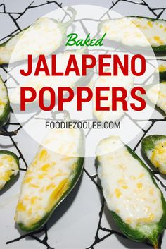 I made these Low-Fat Baked Jalapeño Poppers with just 3 ingredients and 15 minutes! Recipes Appetizers And Snacks, Savory Snacks, Appetizer Dips, Yummy Appetizers, Appetizers For Party, Jalapeno Poppers, Food Spot, Cook Up A Storm, Artisan Food