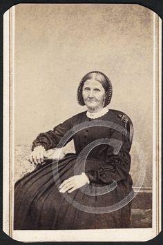 Civil War Granny Comical Facial Expression by Kline Catasauqua PA Tax Stamp CDV | eBay