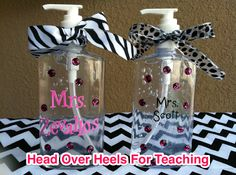 Head Over Heels For Teaching: Monday Made It: Teacher Gifts and New Product
