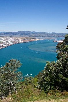 Looking Over Tauranga, Bay of Plenty, New Zealand