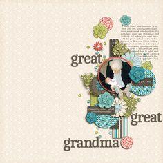 Great-Great Grandma - Scrapbook.com (created by KyRainbow) Wendy Schultz onto Digital Art.