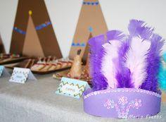 Coronas Niñas Cumpleaños Pocahontas Merbo Events by Merbo Events, via Flickr