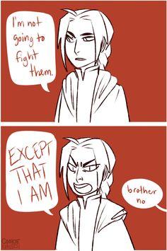 Ed in a nutshell | Edward Elric | Fullmetal Alchemist Brotherhood | #FMAB | #anime