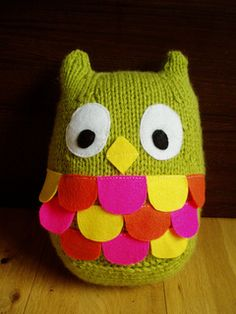 """Fat Owl"" pattern on ravelry by Aine Marriott"