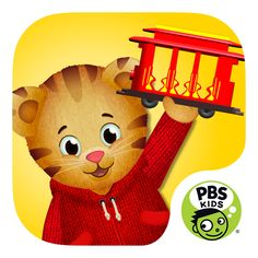Looking for fun things to do with your kids that aren't quite old enough for school yet? Try the new PBS Kids Daniel Tiger's Grr-ific app for the iPad!  http://to.pbs.org/Gif_TW_OP