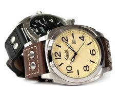 Engraved Pilot Quartz Watch by Speidel - Valentine's Day/anniversary gift for him