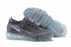 d921395f6c0 Good Production Line Nike Air VaporMax Flyknit 2 TPU Wolf Grey White Womens  Mens Footwear Running Shoes