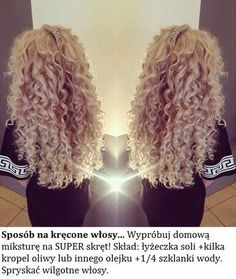 23 long curly blonde hairstyles - Hairstyle Fix Hair Colorful, Curly Hair Styles, Blonde Curly Hair, Blonde Curls, Blonde Ombre, Big Chop, Pretty Hairstyles, Blonde Hairstyles, Wedding Hairstyles