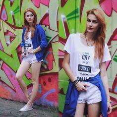 White & blue- więcej na stylizacje.pl